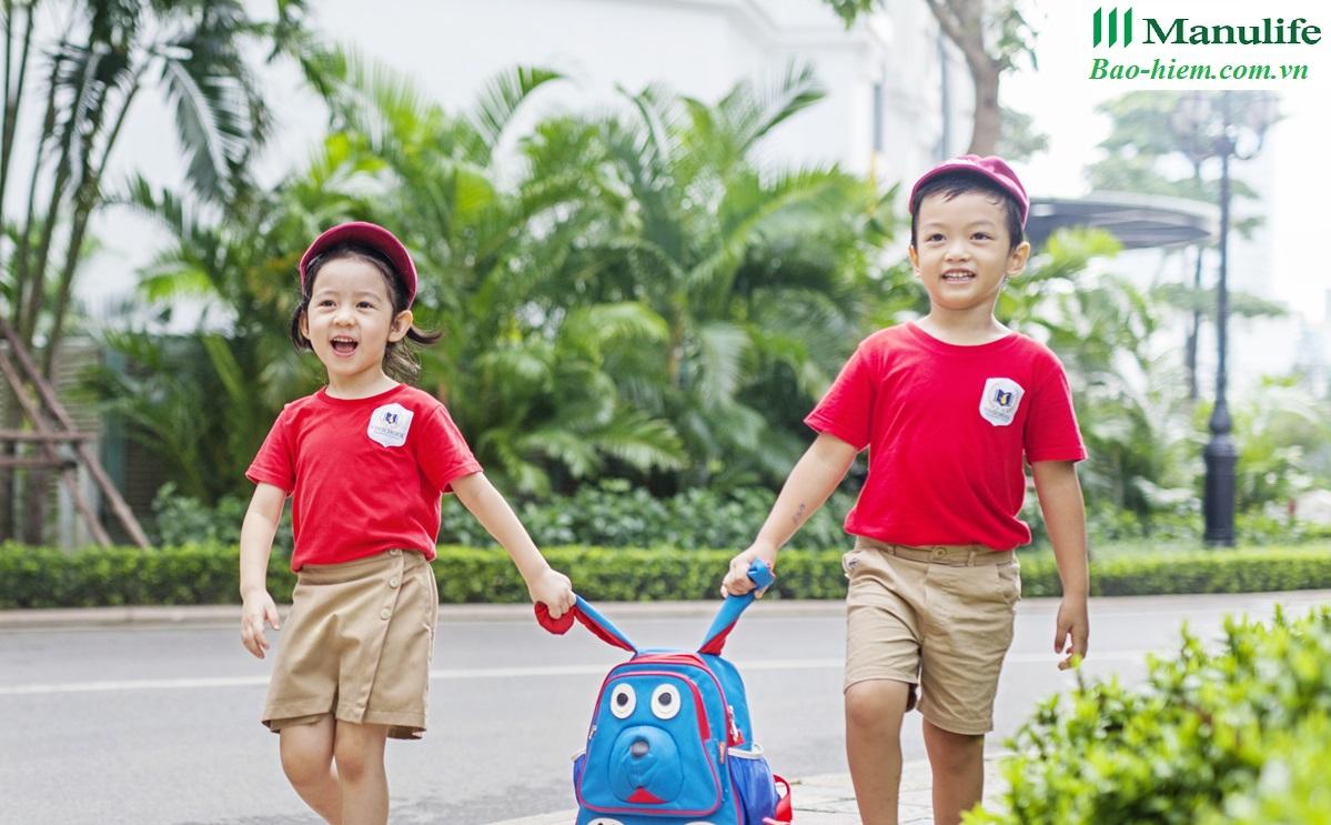 bảo hiểm học đường, an sinh giáo dục, chấp cánh tương lai, cuộc sống tươi đẹp, hành trang cuộc sống