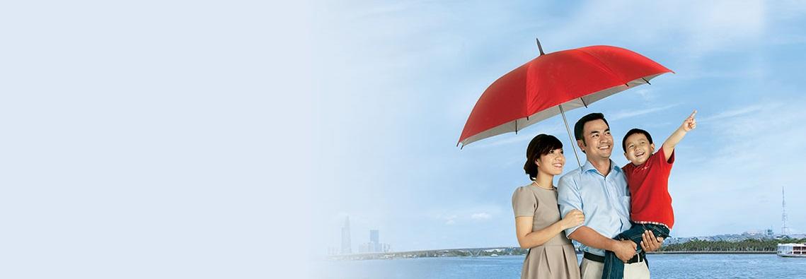 bảo hiểm bổ trợ, chắp cánh tương lai, cuộc sống tươi đẹp, điểm tựa yêu thương, gia đình tôi yêu